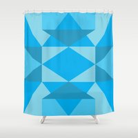 jack frost Shower Curtains featuring Jack Frost by Charlotte Miller