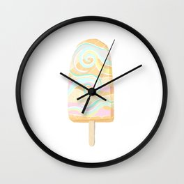 Dreamy Popsicle Wall Clock
