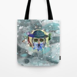 WOLF WATERCOLOR Tote Bag