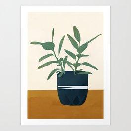 Vase Plant Art Print