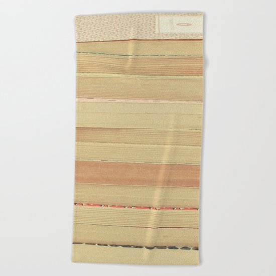 Patterns and Pages Beach Towel