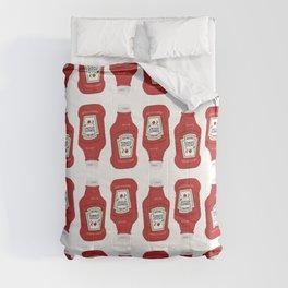 Ketchup Pop Art Comforters