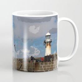 Lighthouse at St Ives, Cornwall, England Coffee Mug