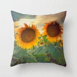 favorite sunset view Throw Pillow