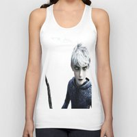 jack frost Tank Tops featuring Jack Frost  by LaurenMichelle