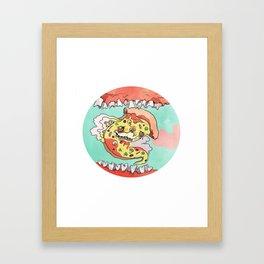 Pizza Dreams Framed Art Print