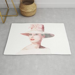 Audrey Hepburn - Watercolor Rug