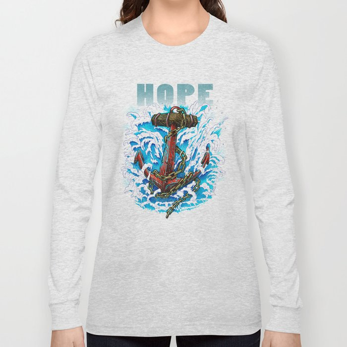 Hope is my Anchor Long Sleeve T-shirt