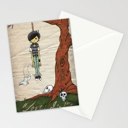 A Love to Die For Stationery Cards
