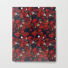 Autumnal flowers mixture Metal Print