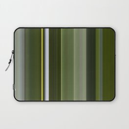 Stripes in Shades of Green Laptop Sleeve