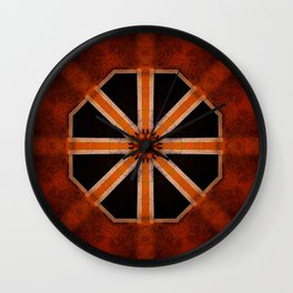 Architectural Star Wall Clock
