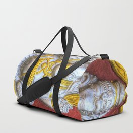 Indian Temple Elephant Duffle Bag