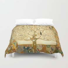 Gustav Klimt - Tree of Life Duvet Cover