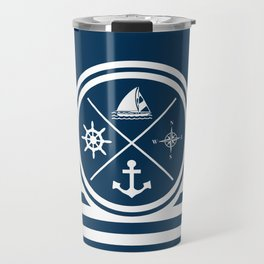 Sailing symbols Travel Mug