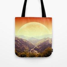 Highland Sunset  Tote Bag