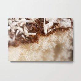 Soft and fluffy lamington Metal Print