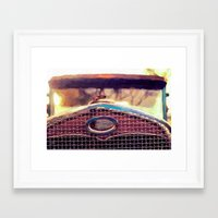 ford Framed Art Prints featuring ford by ARTography by TLB