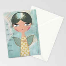 She is always there for you Stationery Cards