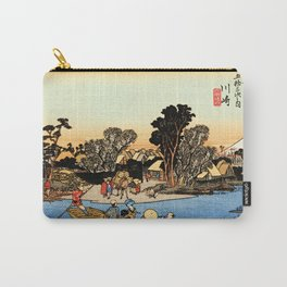 Kawasaki on the Tokaido Road Carry-All Pouch