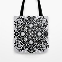 gothic Tote Bags featuring Gothic by Ornaart