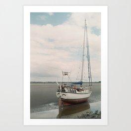 Ready to Sail  Art Print