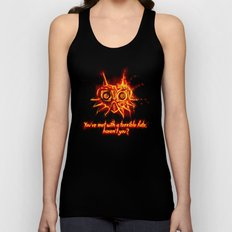 Majora's Mask Fire Unisex Tank Top