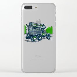 One Tuff Mutha' Clear iPhone Case