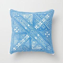 Trip to Morocco via Holland Throw Pillow