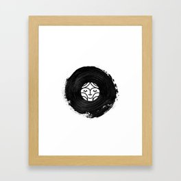 Surrounded by Sound Framed Art Print