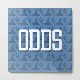 ODDS (Pattern 2) Metal Print