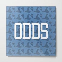 ODDS (Pattern 2) Metal Print