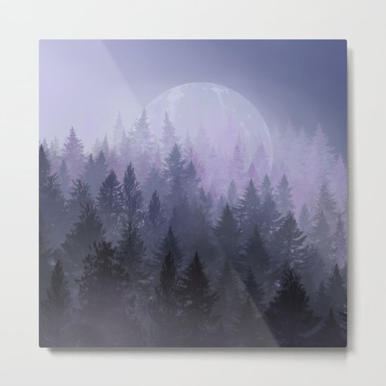 fantasy forest 2 Metal Print