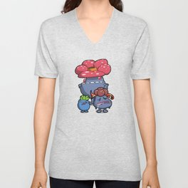 Pokémon - Number 43, 44 & 45 Unisex V-Neck