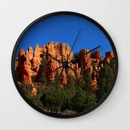 Dixie Forest Hoodoos Wall Clock