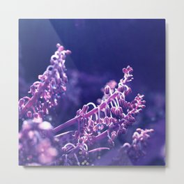 Pastel vibes floral V Metal Print