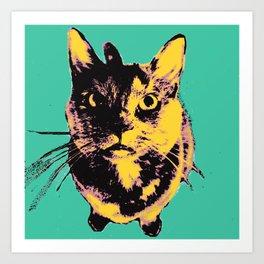 Warhol Drama  Art Print