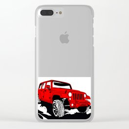 Offroad 4X4 Clear iPhone Case