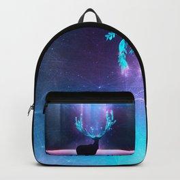 Greenery Deer - Sterling Magenta Backpack