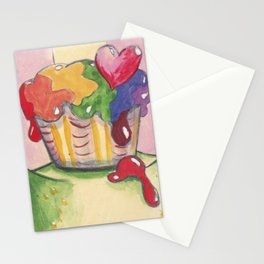Sweet frog Stationery Cards