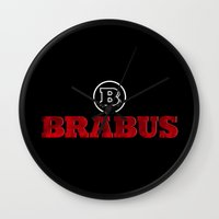 mercedes Wall Clocks featuring BRABUS by Pisthead