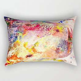Komodo Dragon Rectangular Pillow