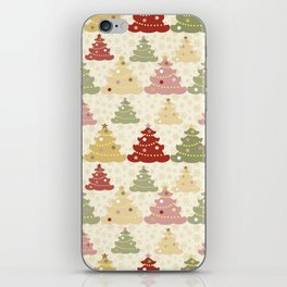 Colored Christmas tree SB2 iPhone Skin