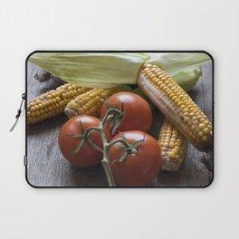 Tomatoe-Corn-Stillife Laptop Sleeve