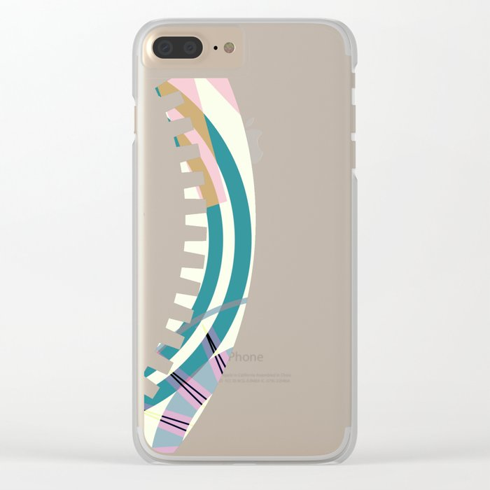 PATTERN-2 Clear iPhone Case
