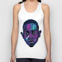 kendrick lamar Tank Tops featuring Control - Kendrick Lamar by SmartyArt Chick