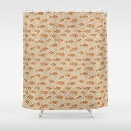 Poisson Rouge Shower Curtain