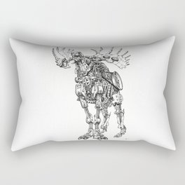 Motor Moose Rectangular Pillow