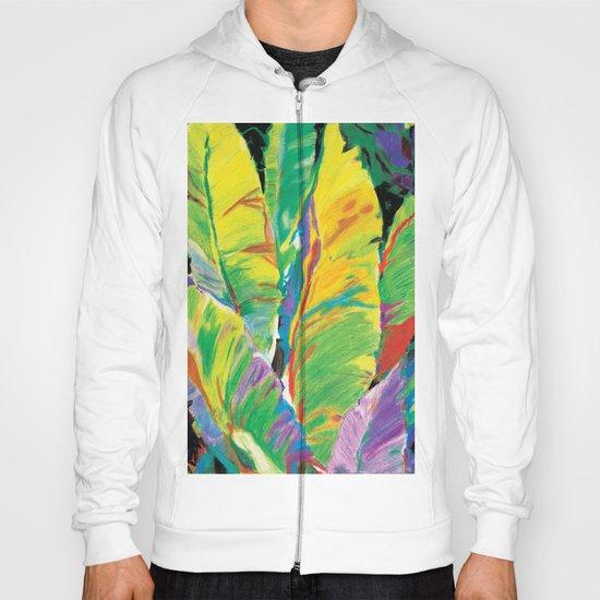 Exotic Leaves Hoody