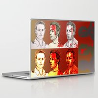 grimes Laptop & iPad Skins featuring Rick Grimes by Zalazny